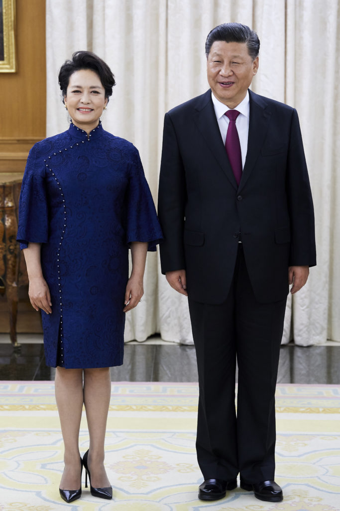 Пэн Лиюань и Си Цзиньпин