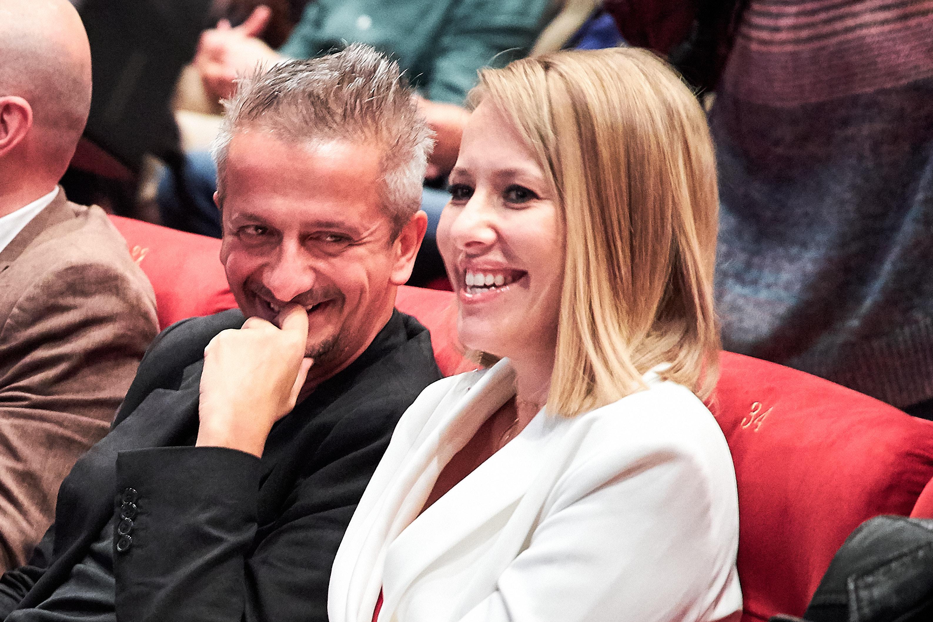 «Навсегда»: Ксения Собчак и Константин Богомолов обменялись признаниями в любви