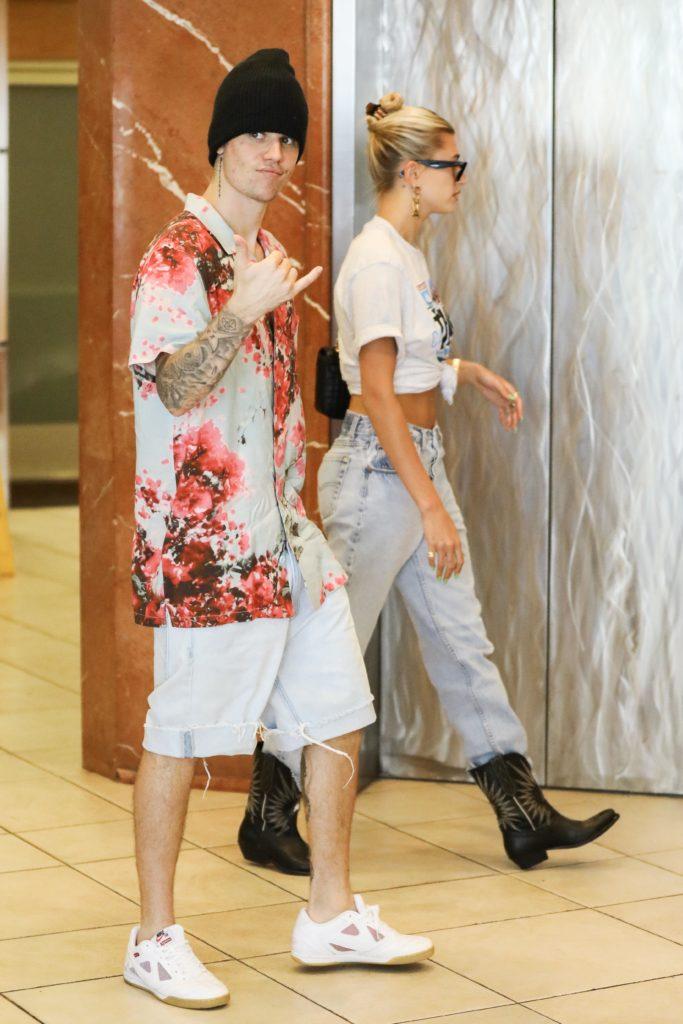 Джастин и Хейли Бибер (фото legion-media.ru)