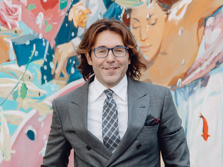 Андрей Малахов на завтраке клуба коллекционеров Cosmoscow и Hutton Development