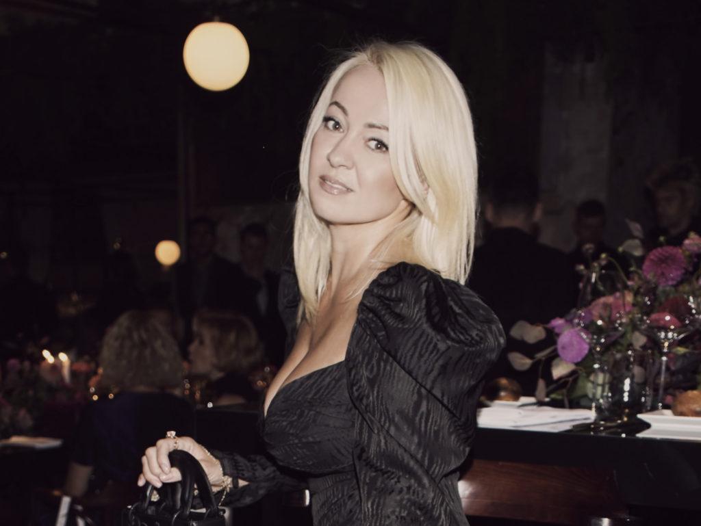 Яна Рудковская, Юлия Пересильд и Дарья Клюкина на коктейле и ужине Jimmy Choo