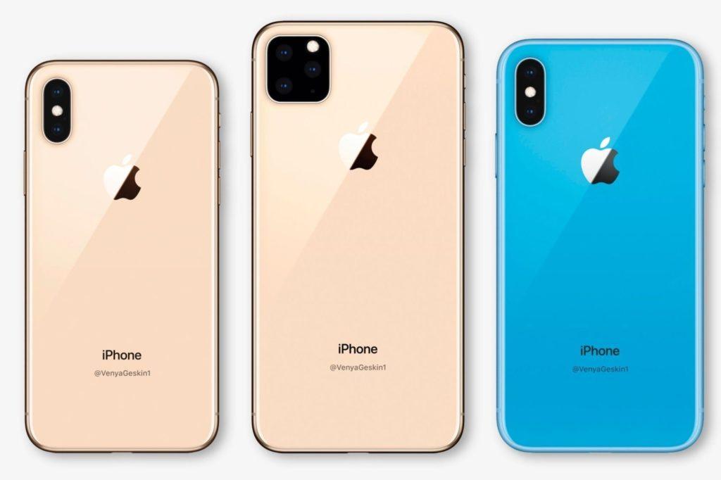 2019: iPhone 11, 11 Pro, 11 Pro Max