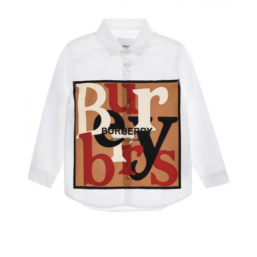 BURBERRY, Рубашка с принтом (10 999 р.)