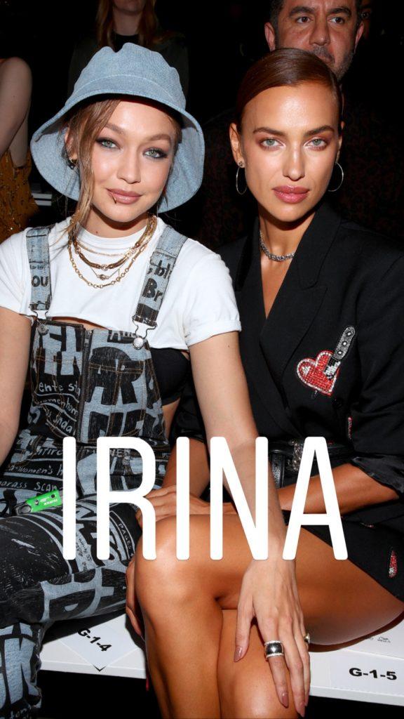 Слишком много красоты на один квадратный метр: Джиджи Хадид и Ирина Шейк на показе Недели моды в Нью-Йорке