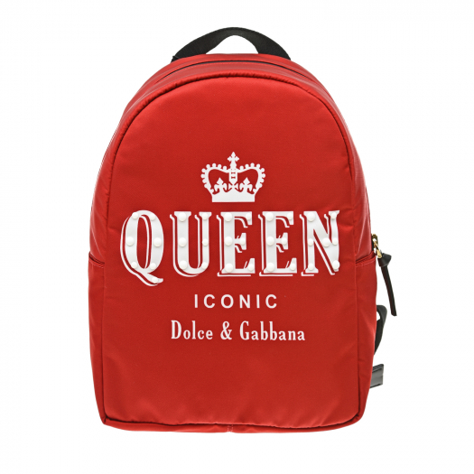 DOLCE&GABBANA, Рюкзак с принтом Queen (29 999 р.)