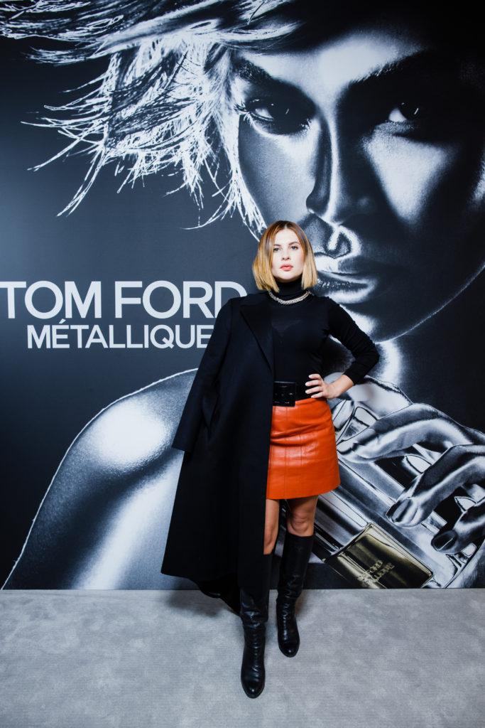 Мария Мельникова, Анастасия Меськова и другие на презентации нового аромата Tom Ford