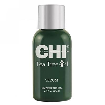 Сыворотка с маслом чайного дерева CHI Tea Tree Serum, 400 р. Для отпуска в жарких странах – маст-хэв. Защищает от УФ-лучей, увлажняет и питает волосы полезными компонентами. На выход наноси на кончики и по всей длине, а дома используй как маску для кожи головы.