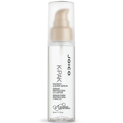Сыворотка для защиты и блеска волос Joico, 2720 p. Уплотняет волосы и убирает «пушистость», делая волосы блестящими. Приятный бонус – очень вкусно пахнет.