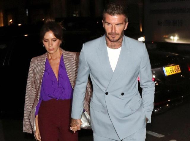 Все-таки самые красивые! Дэвид и Виктория Бекхэм в Лондоне