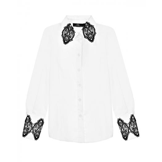DAN MARALEX, Рубашка с кружевной отделкой (7 499 р.)