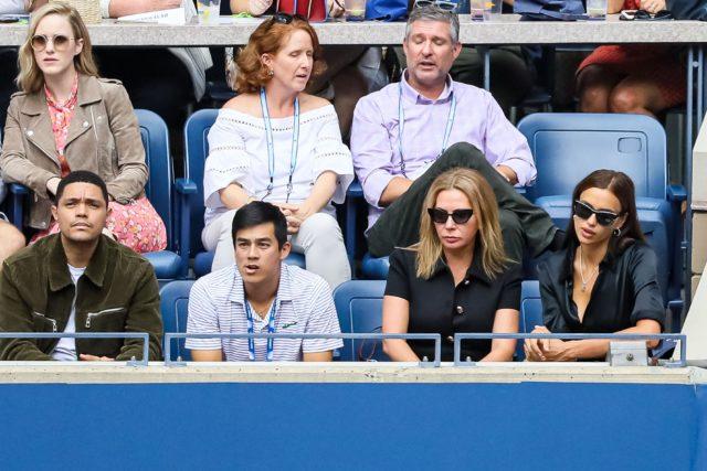 Пока Брэдли Купер в Торонто: Ирина Шейк на теннисном матче в Нью-Йорке