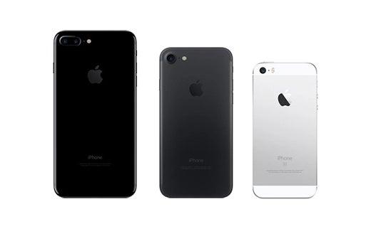2016: iPhone 7 Plus, 7, SE