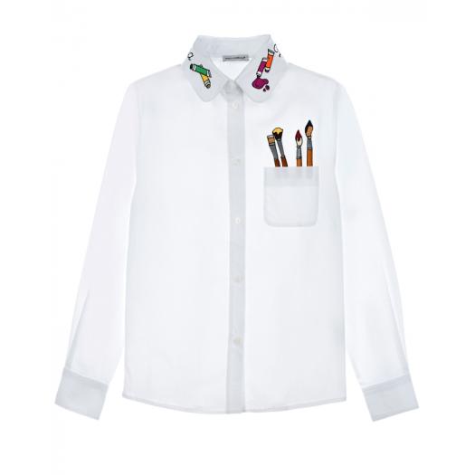 DOLCE&GABBANA, Рубашка с принтом (15 999 р.)