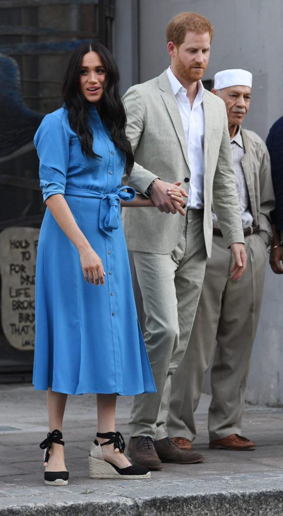 Меган Марки и принц Гарри