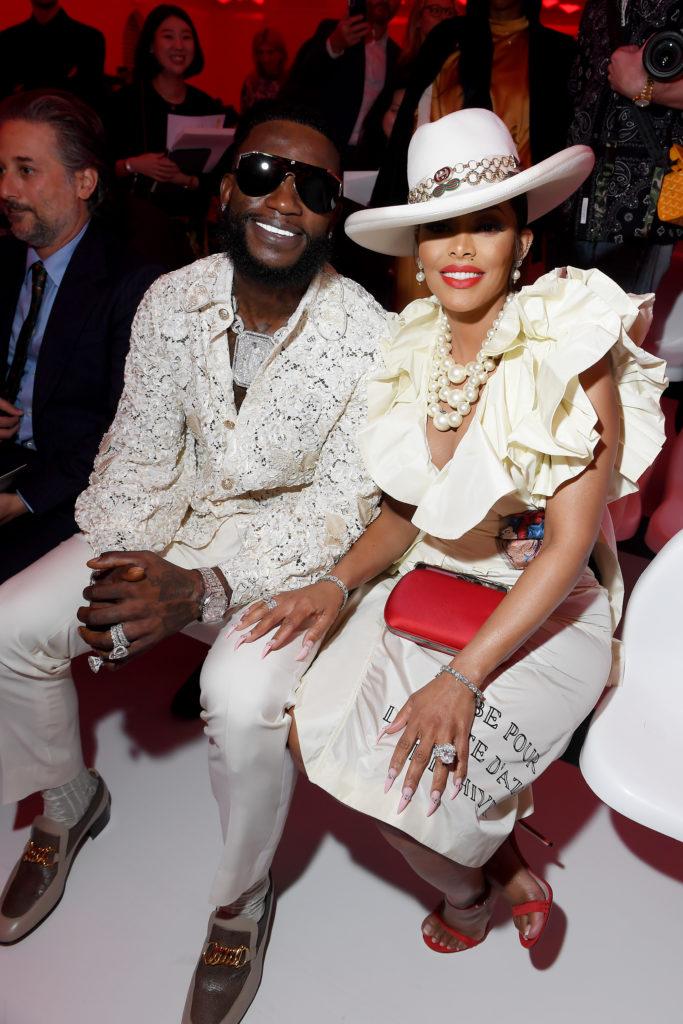 Gucci Mane с женой Кейшей Кайор