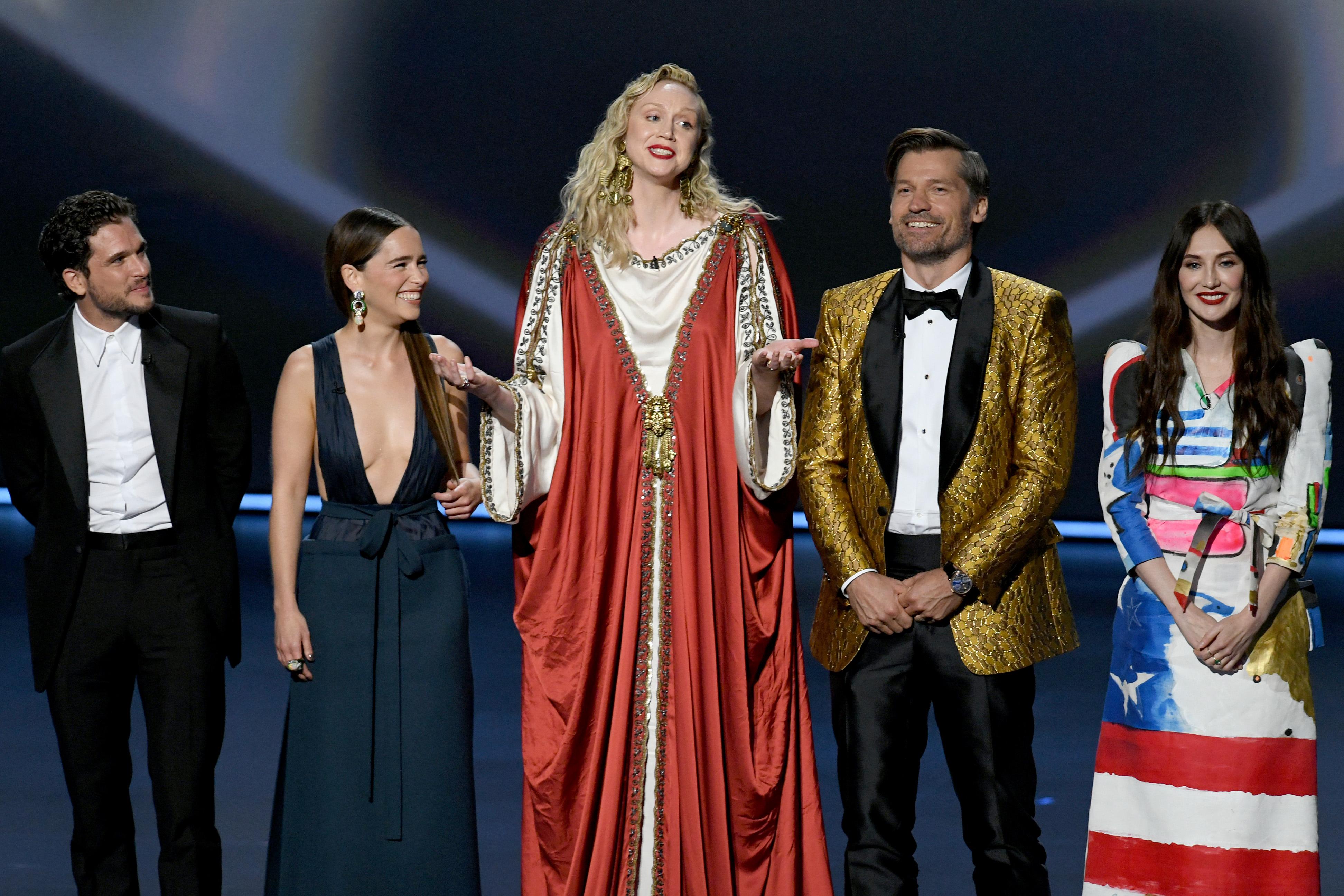 Актеры «Игры престолов» на премии «Эмми»