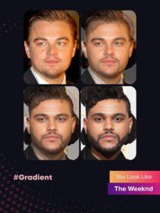#Gradient: на кого из Голливуда похожи звезды?