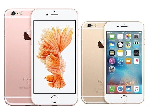 2015: iPhone 6s Plus, 6s