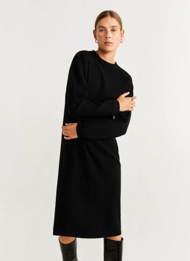 25 стильных платьев на осень