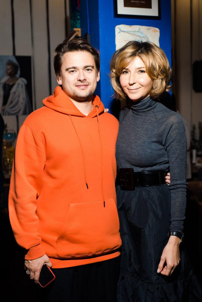 Борис Зарьков и Виктория Полякова