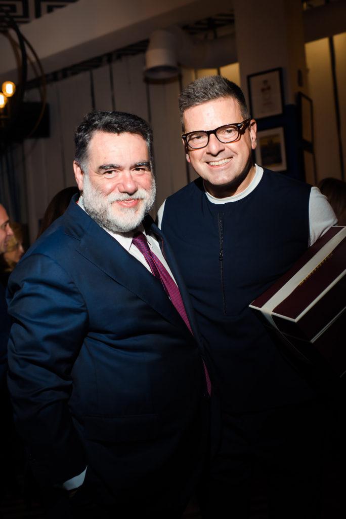 Михаил Куснирович и Константин Андрикопулос