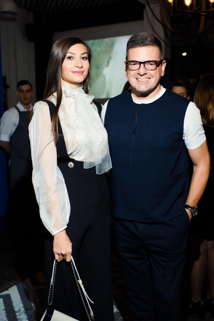 Ирина Йовович и Константин  Андрикопулос