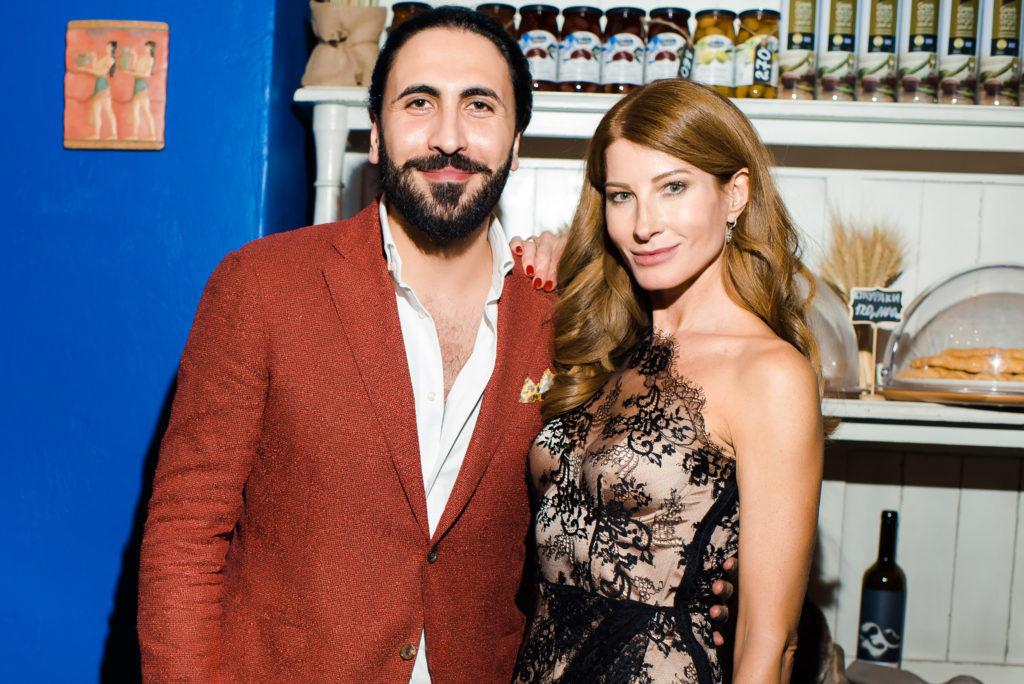 Самсон Моисидис и Ольга Андрикопулос