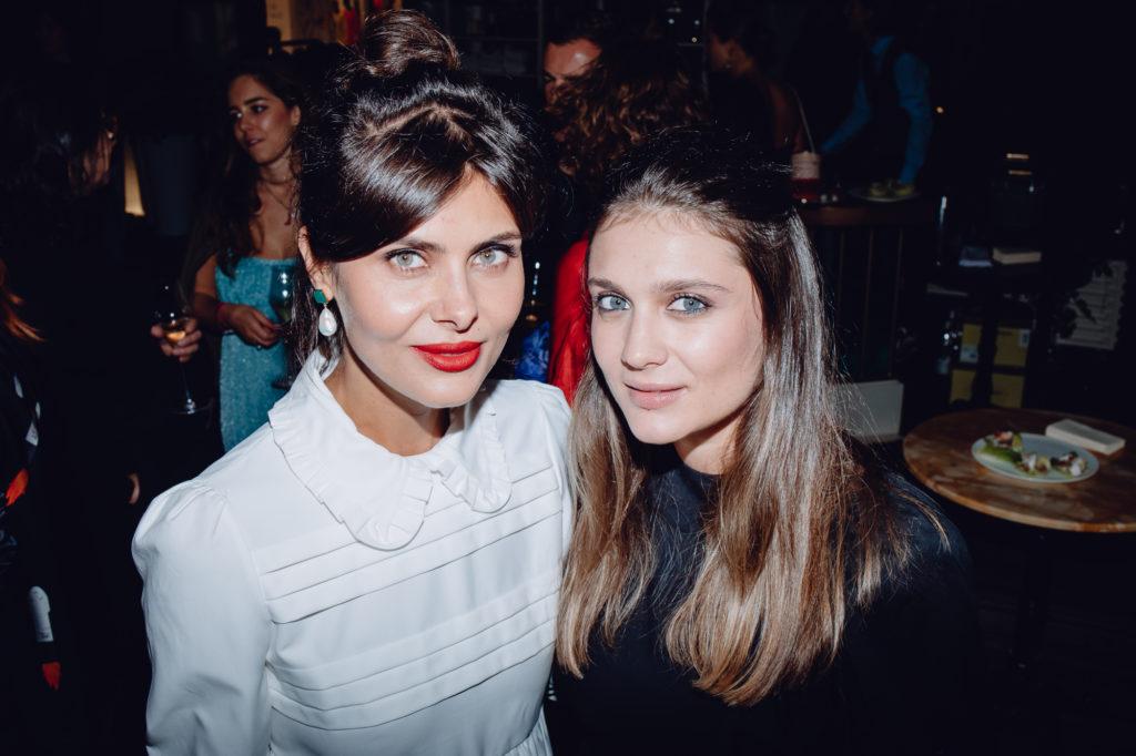 Надежда Оболенцева и Екатерина Дарма