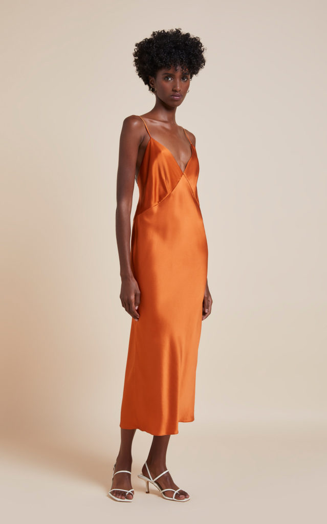 Платье Olivia von Halle, $390 (modaoperandi.com)