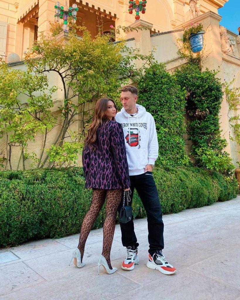 Маша Белова и T-killah встречают осень в Вероне