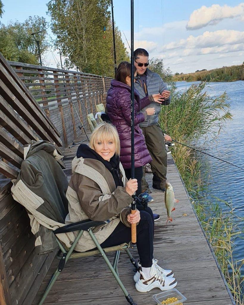 Валерия рыбачит в Астраханской области