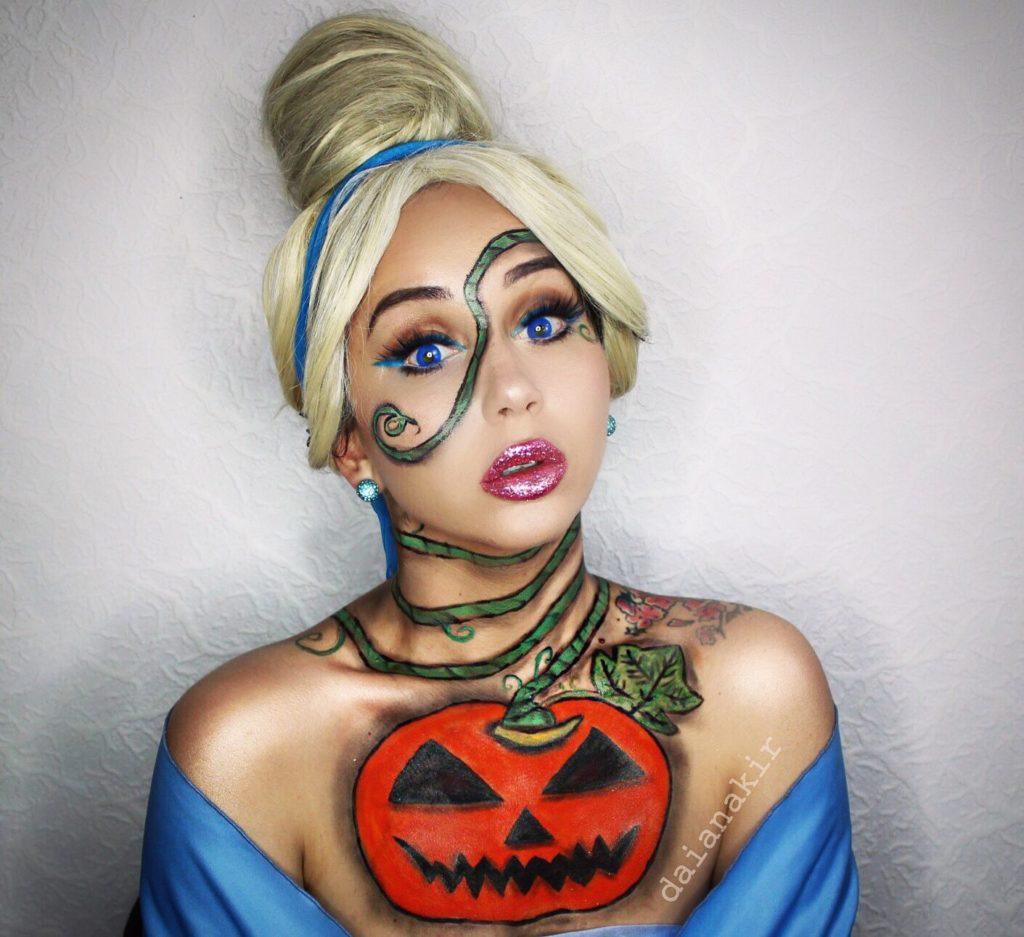 Для фанатов Disney: топ-20 идей макияжа на Хэллоуин в стиле персонажей мультфильмов