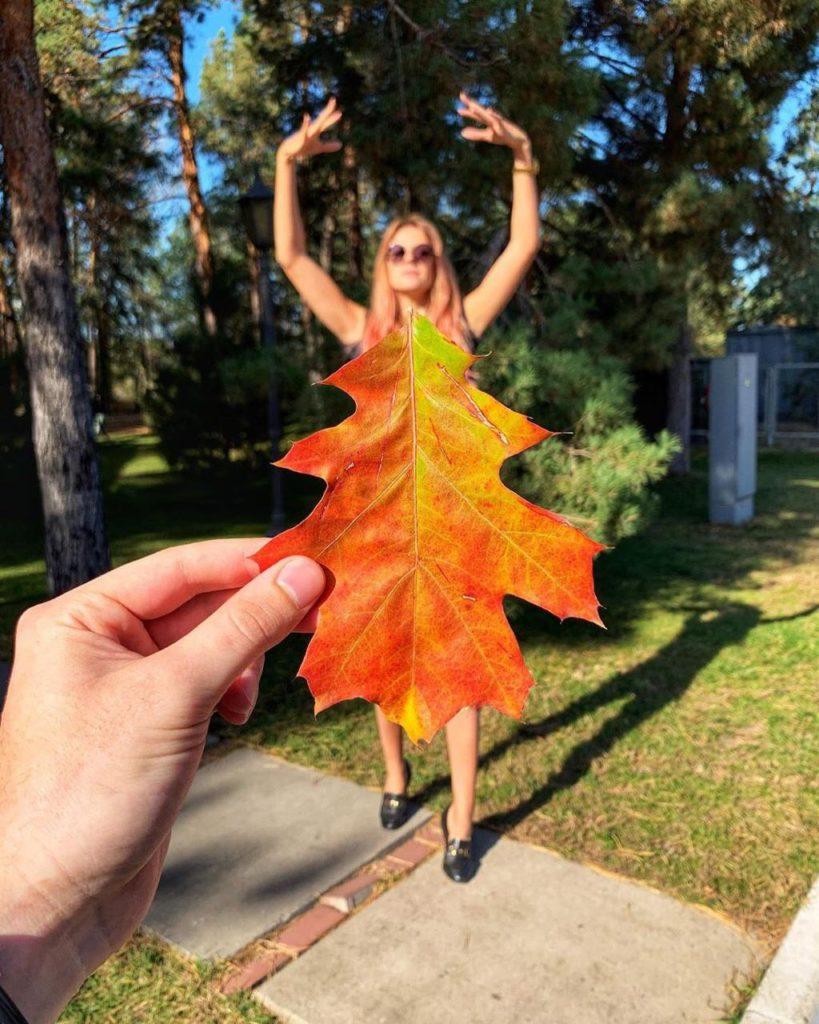 Осеннее платье от Леси Никитюк