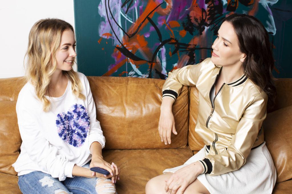 Марина Харламова и Наталия Орейро (фото: Адица Томаразова)