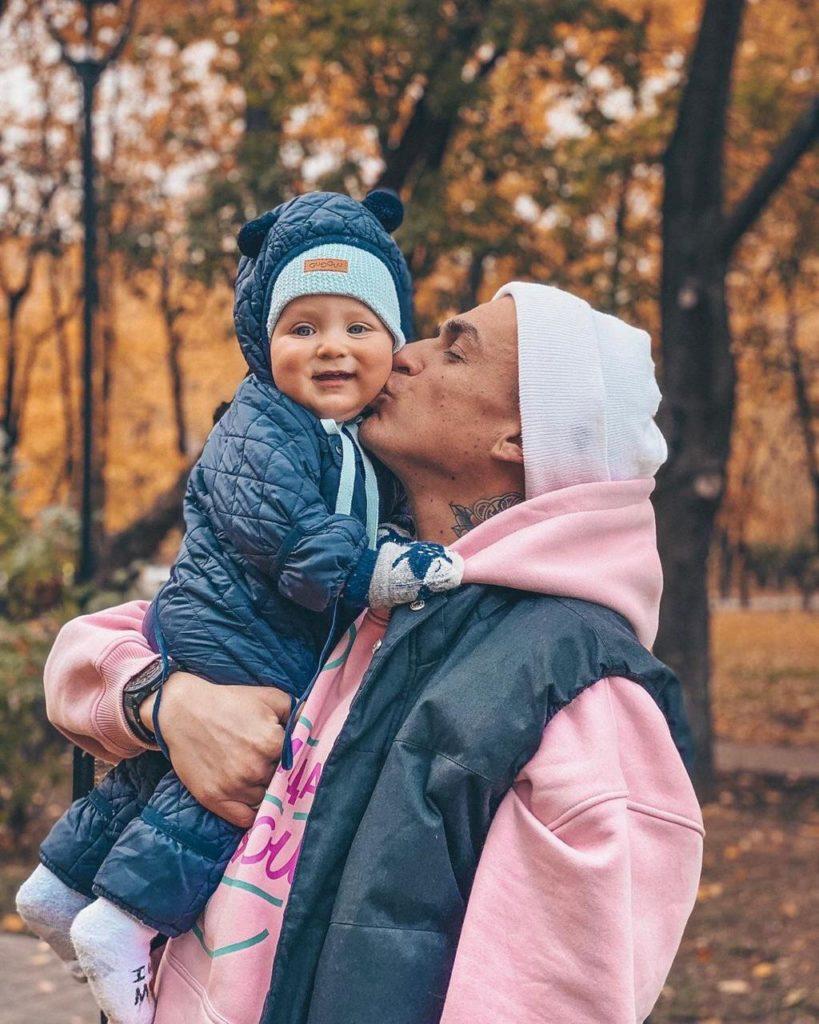 Влад Топалов с сыном