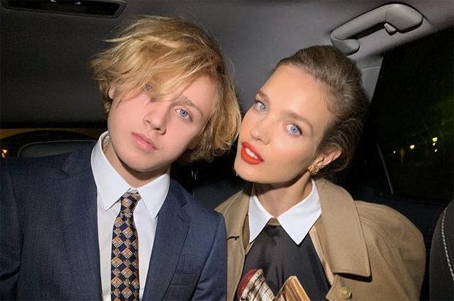 Милые! Новое фото старшего сына Натальи Водяновой с девушкой