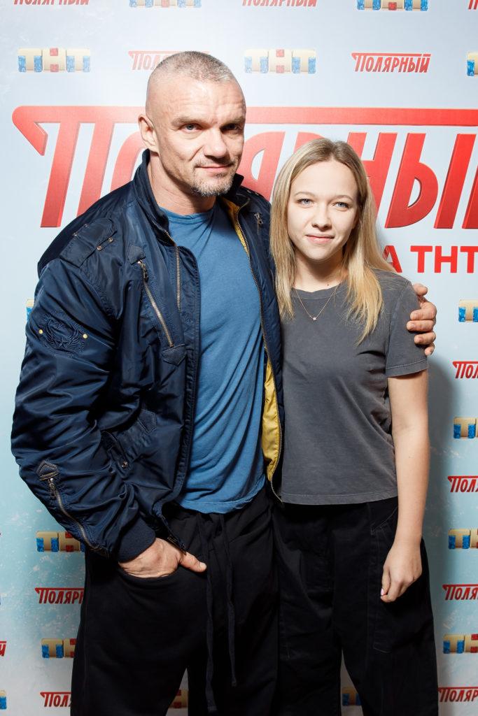 Михаил Пореченков, Катерина Шпица и T-killah на премьере сериала «Полярный»