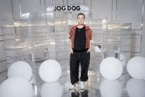 Оксана Акиньшина, Екатерина Одинцова и Митя Фомин на вечеринке Jog Dog