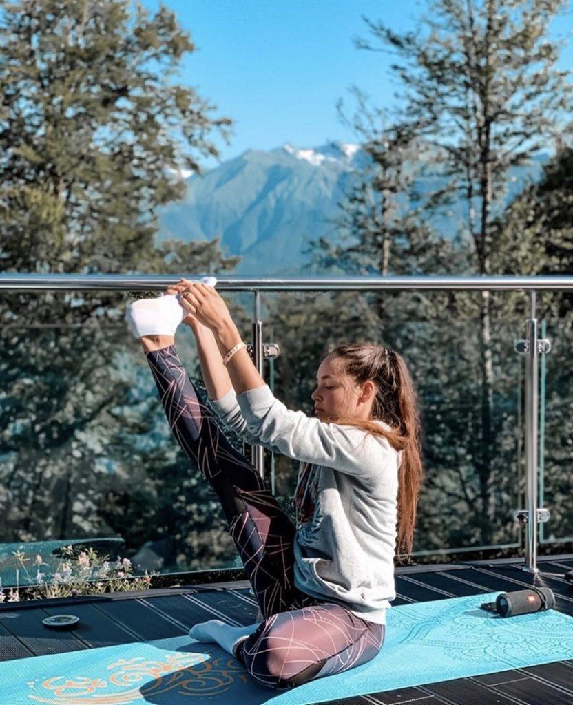 Йога в отеле Green Flow