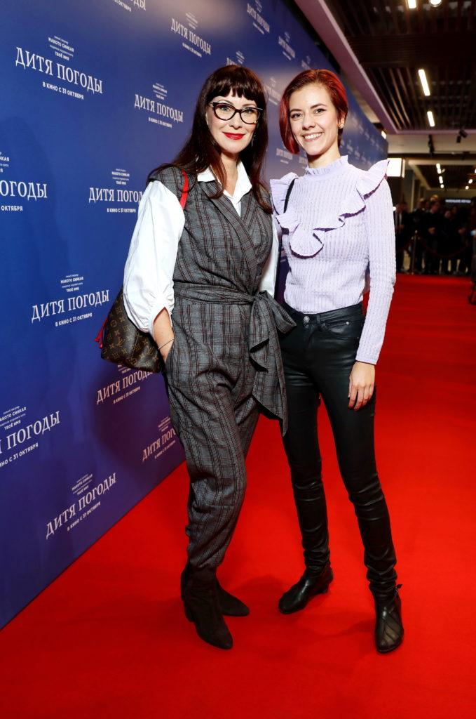Ирина Горбачева, Нонна Гришаева и Монеточка на премьере «Дитя погоды»