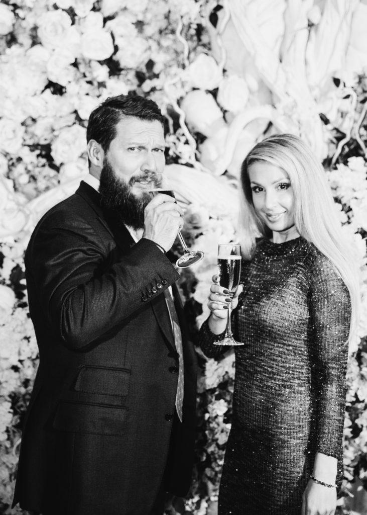 Пётр Аксенов и Ирина Шапиро