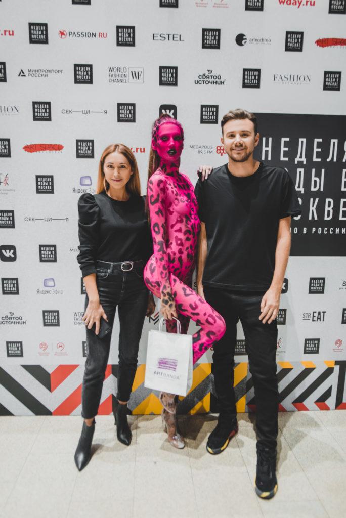 Лена Летучая, Анастасия Смирнова и другие на показе бренда Volky