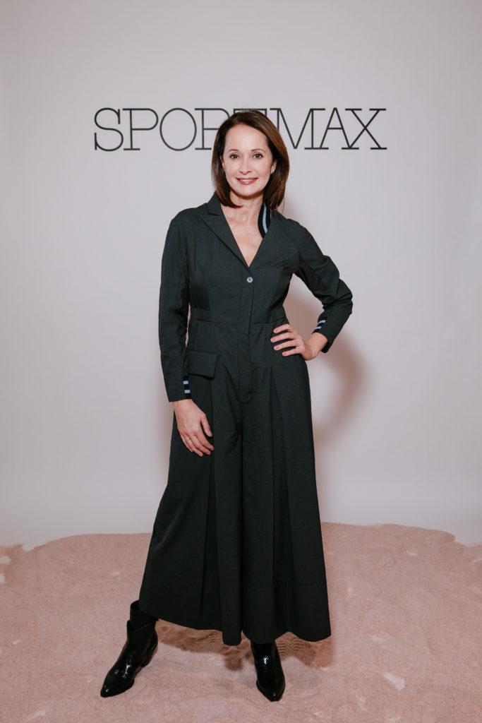Полина Гагарина, Аврора и Ирина Горбачева на открытии бутика Sportmax