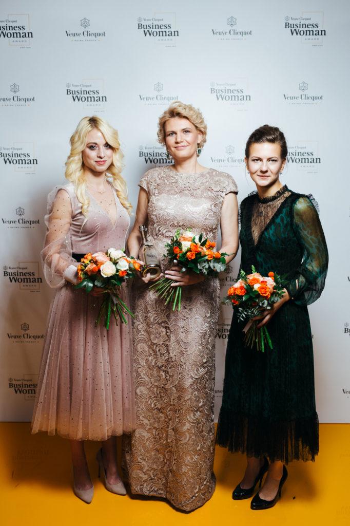 Анна Белова, Ольга Изранова и Дарья Абрамова