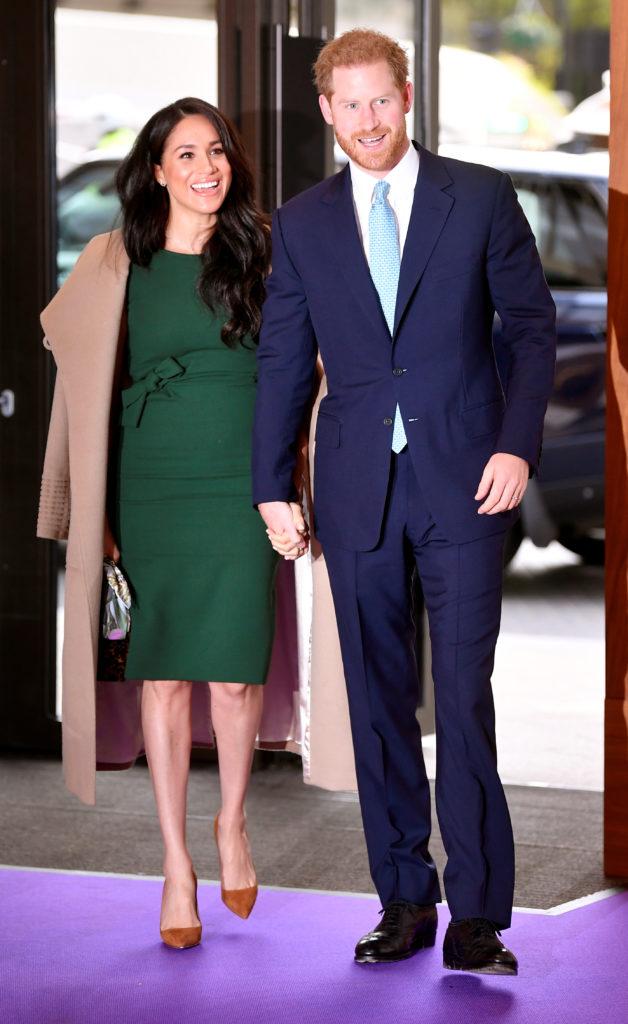 Зеленый ей к лицу! Новый выход Меган Маркл и принца Гарри