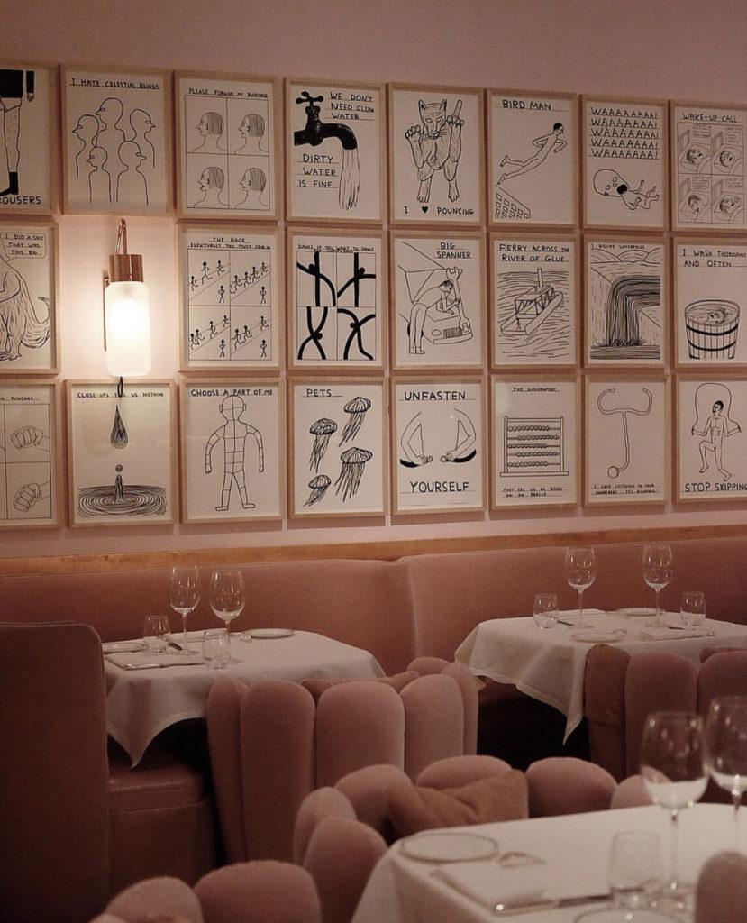 Sketch Gallery — этот ресторан входит в двадцатку лучших ресторанов мира со дня открытия! В меню — европейская, французская и британская кухни.