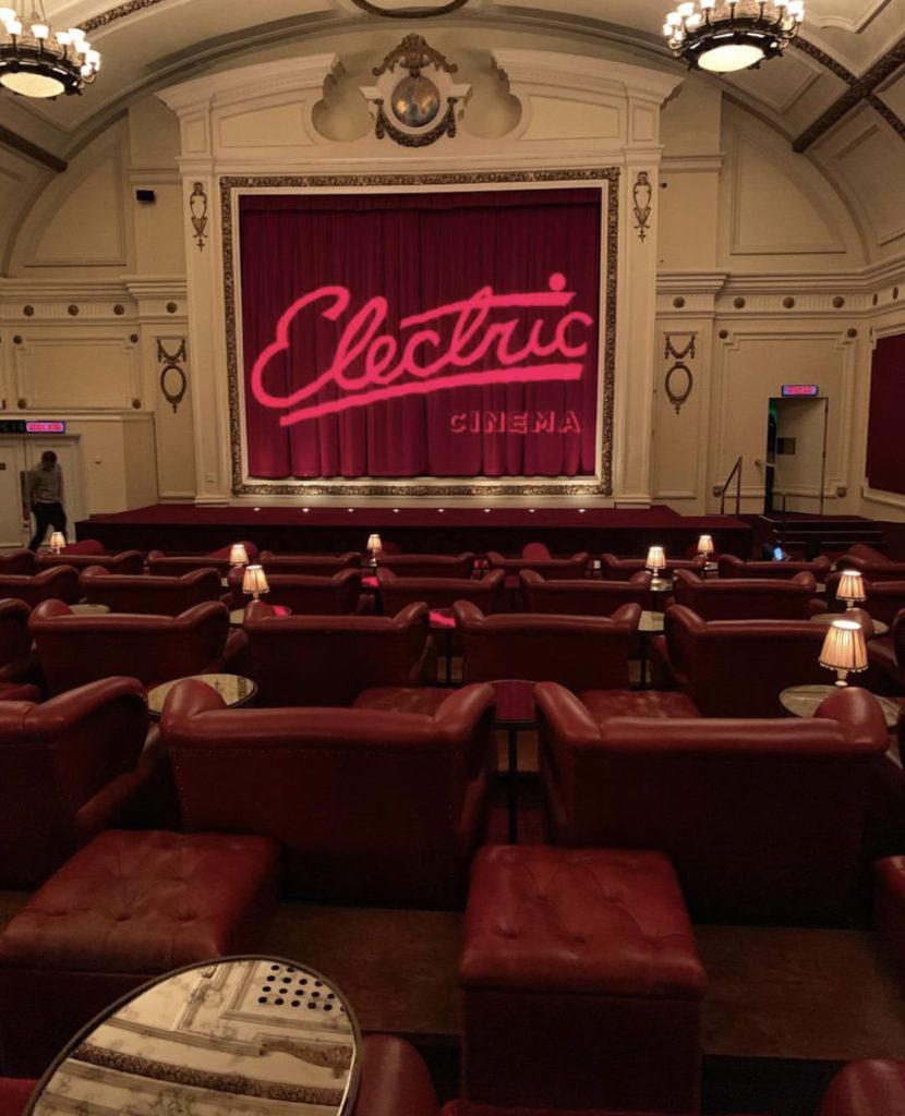 Electric Cinema — один из старейших кинотеатров в Великобритании с очень крутой атмосферой!