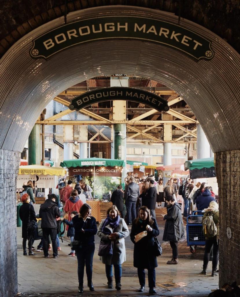 Borough Market — самый старый и популярный рынок Лондона.