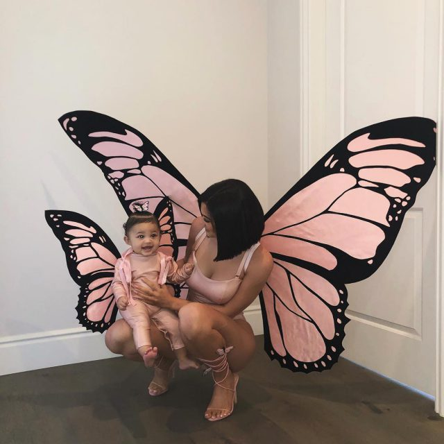 Кайли Дженнер с дочкой Сторми