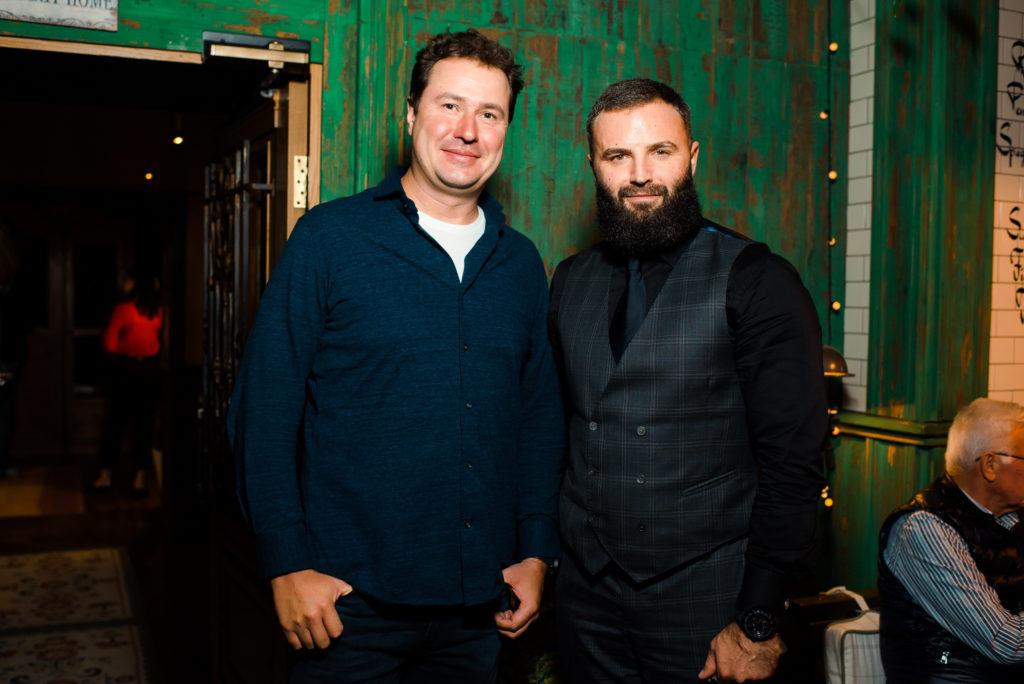 Кирилл Гребенщиков и Андрей Бургат